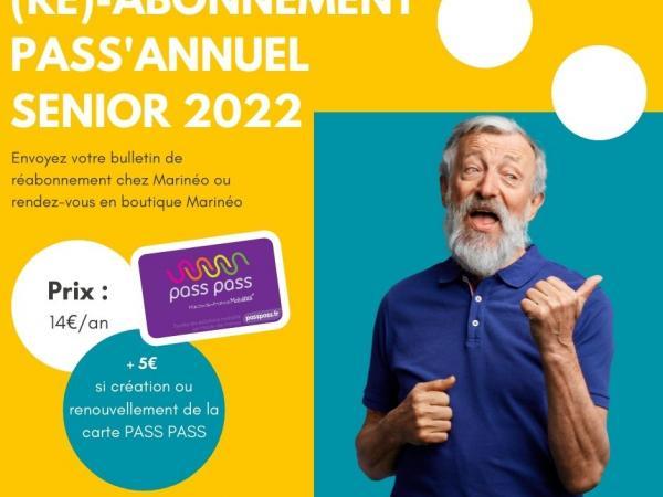 RV Pass Annuel Senior