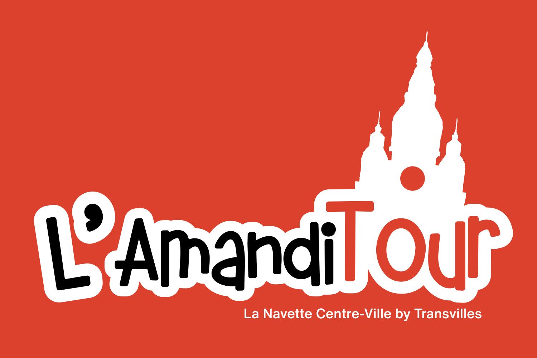 Logo de la navette de centre-ville Amanditour à Saint-Amand-les-Eaux