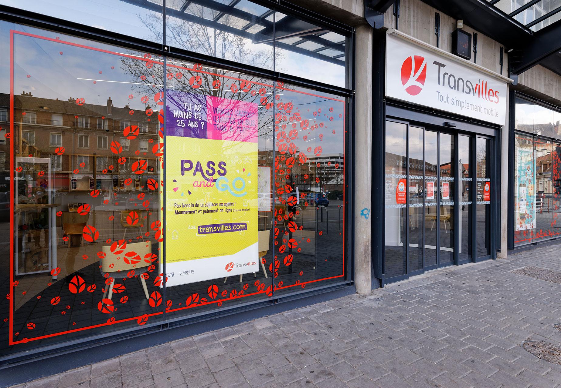 Agence Transvilles place du Hainaut à Valenciennes