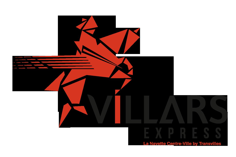 Logo Villars Express, la navette de coeur de ville de Denain