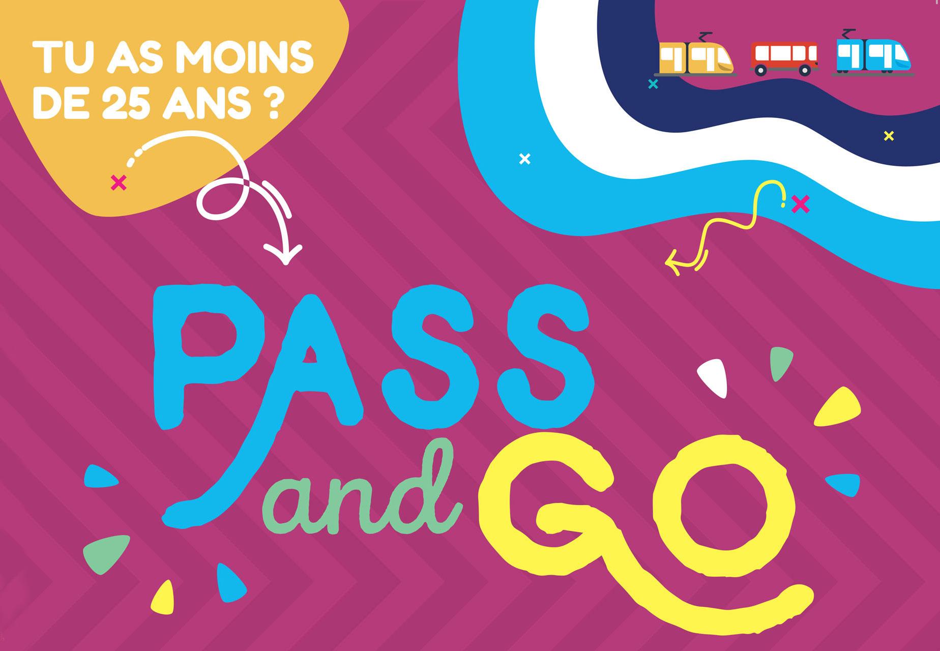 Logo de l'abonnement Pass & Go 2021