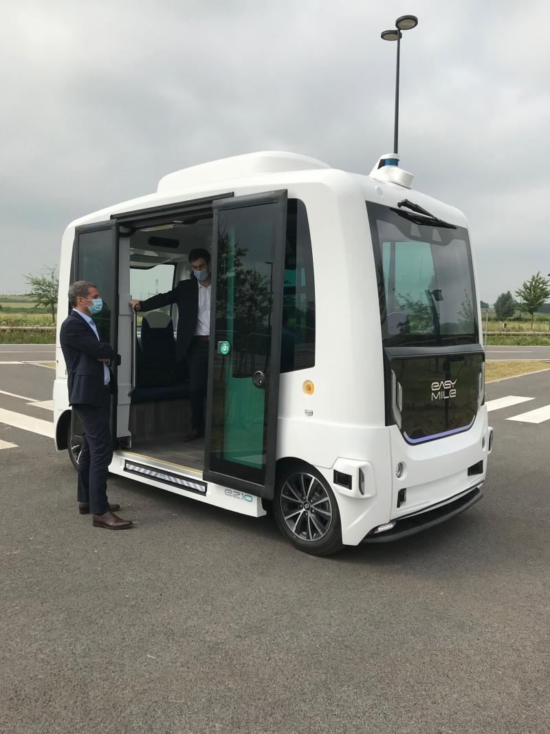 Navette autonome RATPDev Transalley