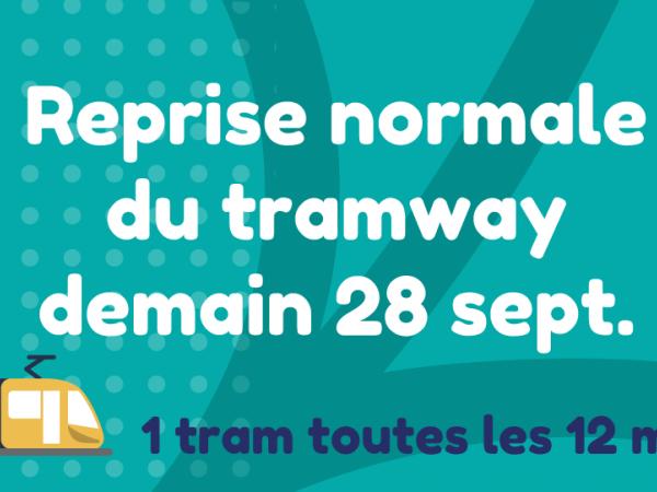 Reprise réseau tramway
