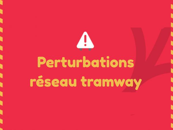 Perturbations tramway