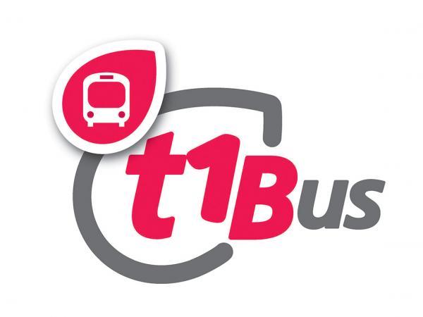 Logo du bus relais T1bus